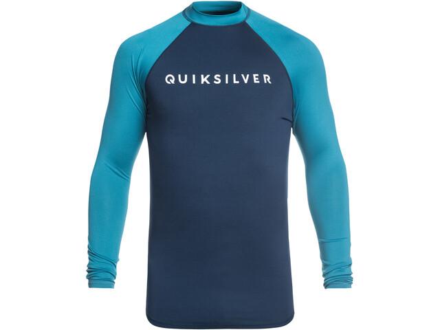 Quiksilver Always There LS Shirt Herren medieval blue